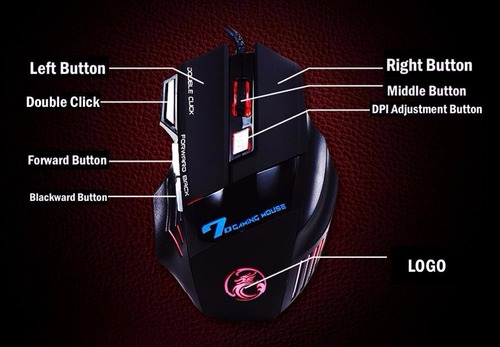 kit mouse gamer usb + mouse pad+ fone ouvido headset pc ps4