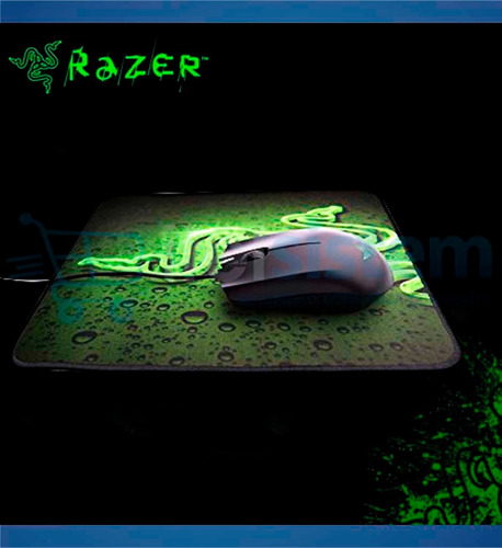 kit mouse razer abyssus+ pad mouse goliathus speed itelsiste