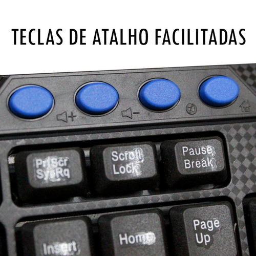 kit mouse teclado tecla