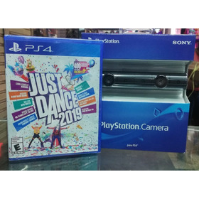 Kit Move Ps4 Camara V2 + Just Dance 19 Super Oferta Xstation