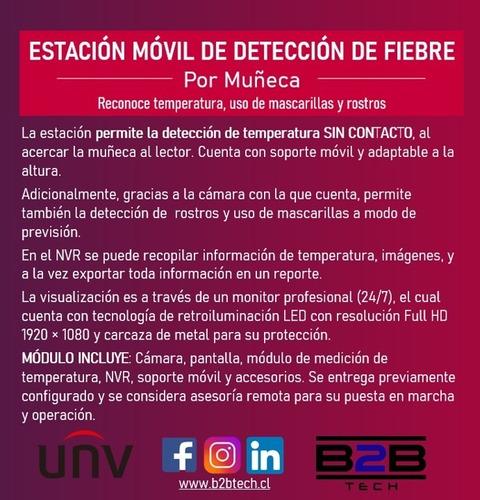 kit móvil de detección de fiebre