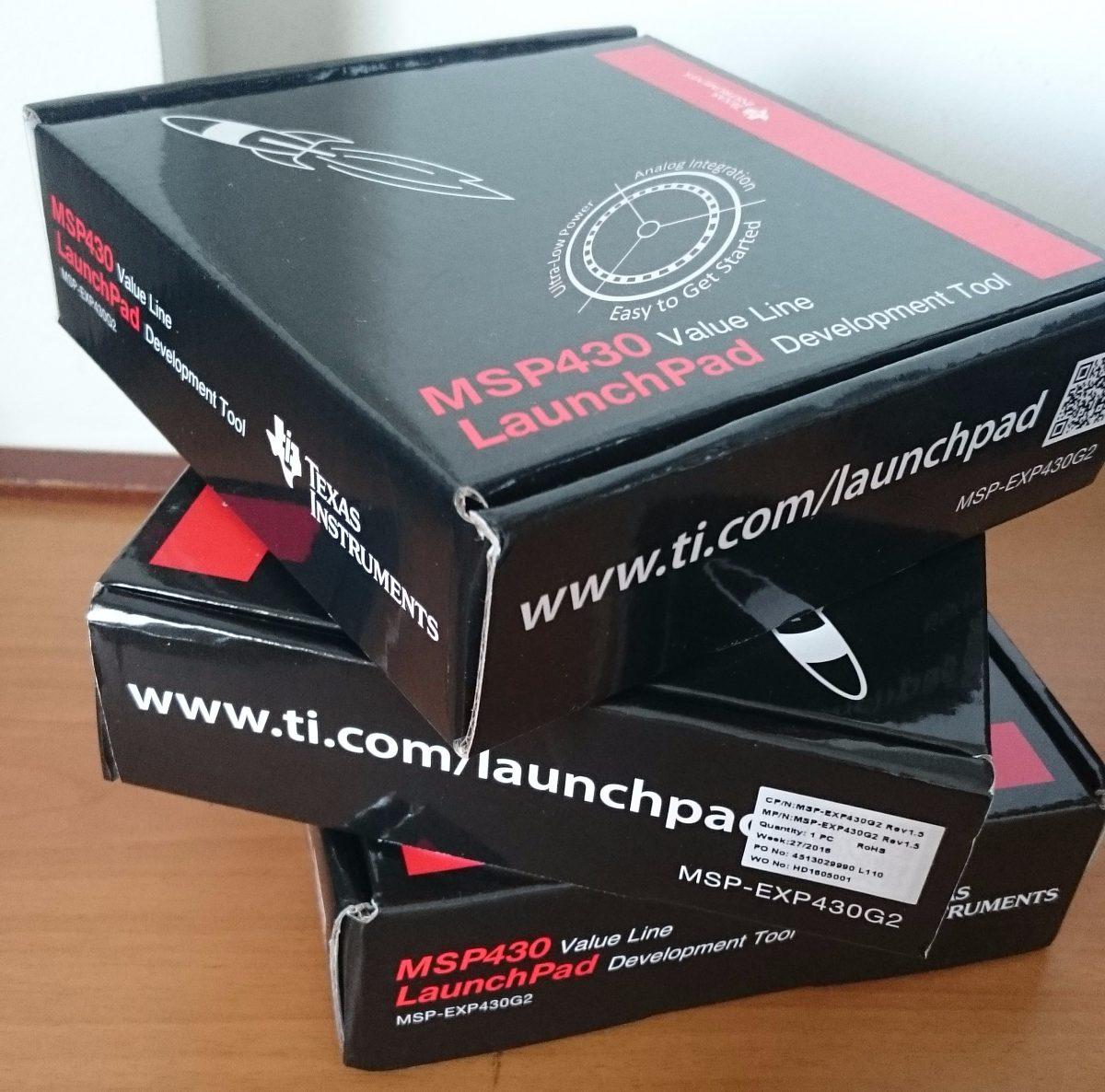 Kit Msp430 Placa Desenvolvimento + 3 Msp430g2553 Extras