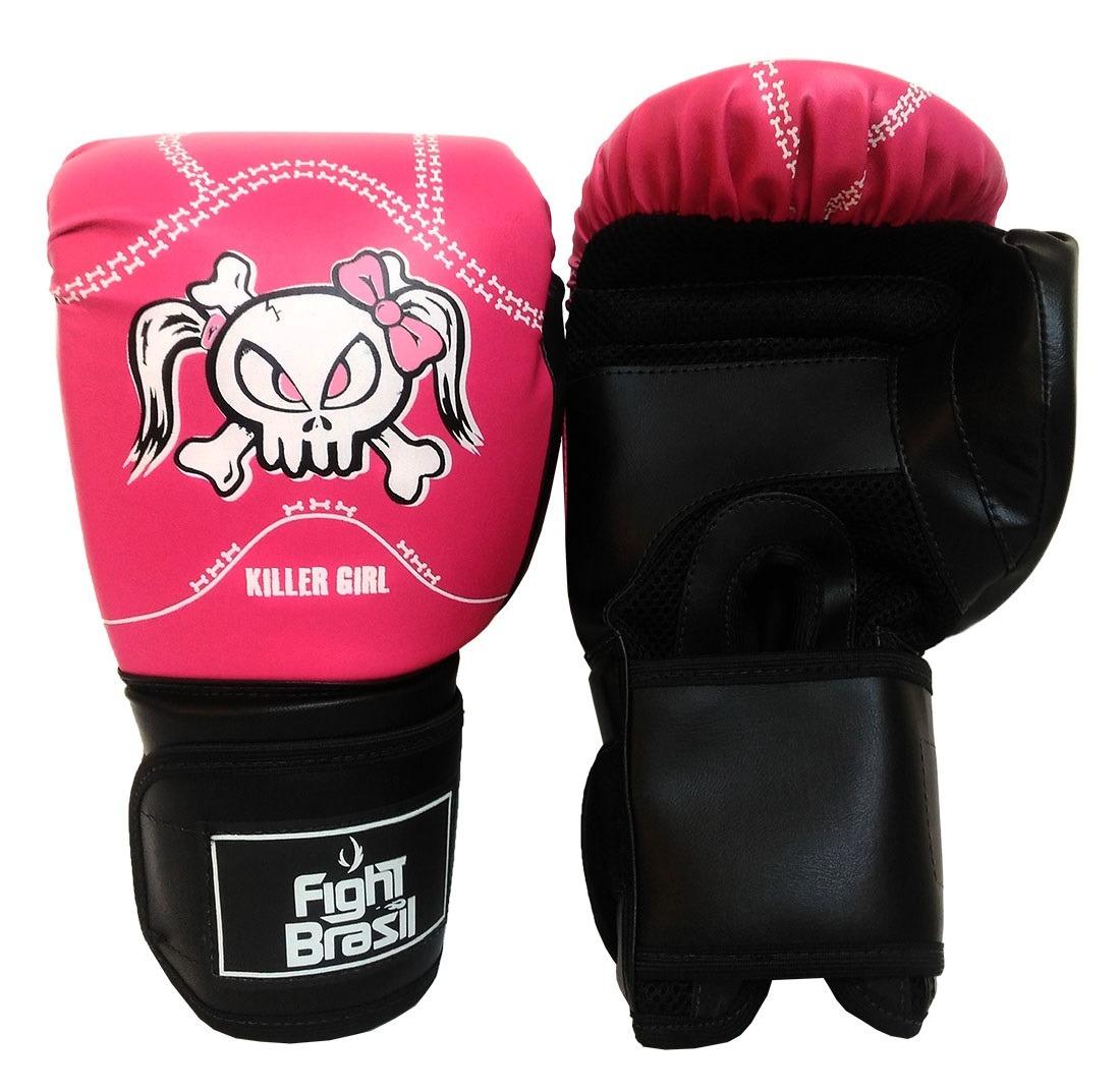 e7f682f91 kit muay thai barato luva bandagem bucal fight brasil 12 oz. Carregando zoom .