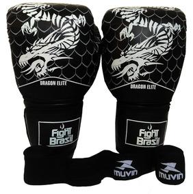 0bf02d7d7 Luva Muay Thai Fight Brasil 14 Oz - Luvas para Artes Marciais e Boxe no  Mercado Livre Brasil