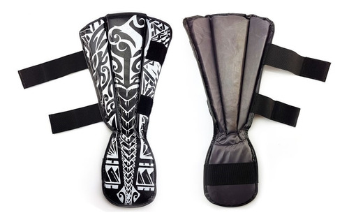 kit- muaythai spank preto (luva, caneleira, bandagem, bucal)