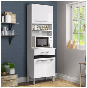 Kit Mueble Cocina 4 Puertas 1 Cajón Blanco 137409 / C & S