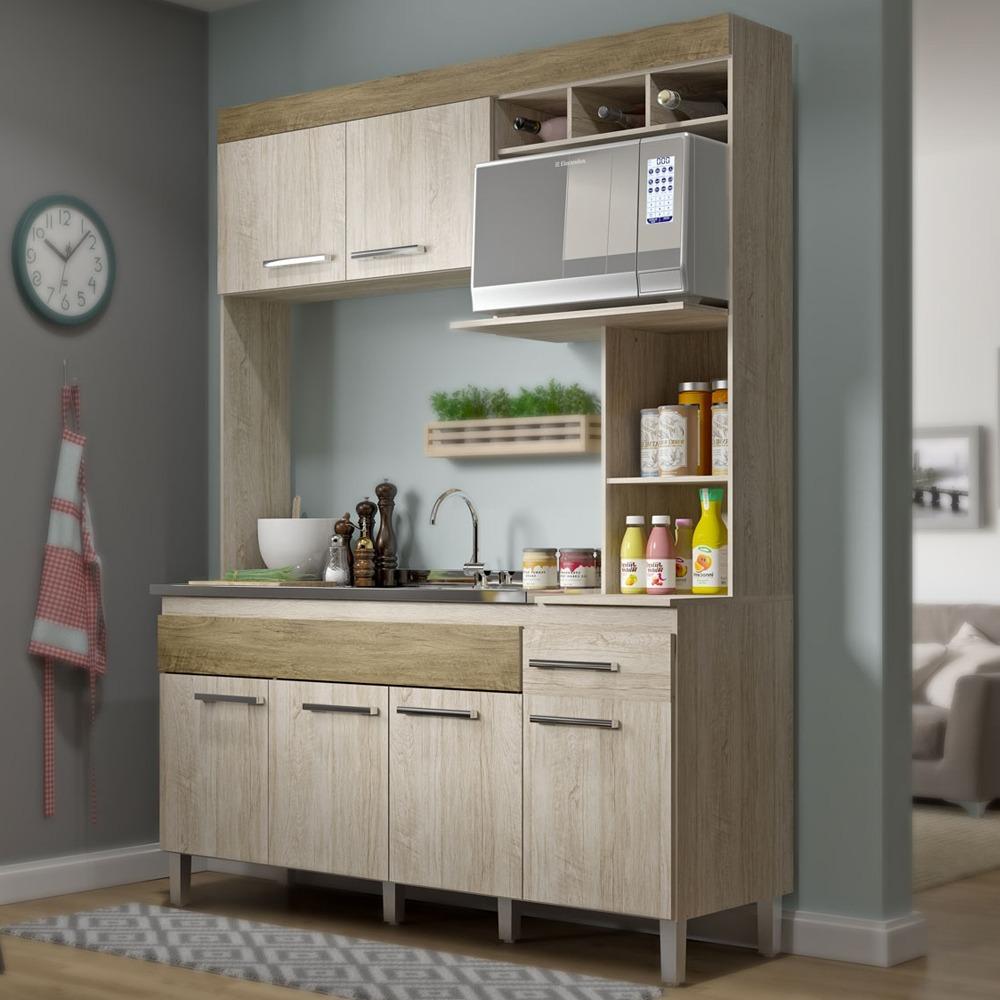 Kit mueble cocina 6 puertas 1 caj n bali 13637 md en mercado libre - Mueble cocina kit ...