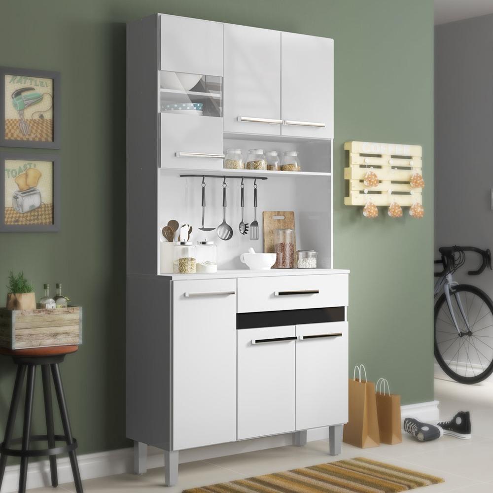 Kit Mueble Cocina 6 Puertas 1 Cajón Blanco 136109 / Md - $ 59.990 en ...