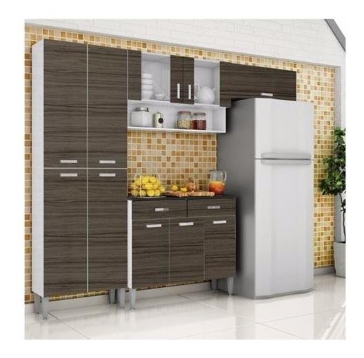 Kit Mueble Cocina Parana Quartz 8 Puertas Nuevo Caja
