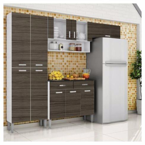 Kit Mueble Cocina Parana Quartz 8 Puertas Nuevo Caja - $ 109.990 en ...