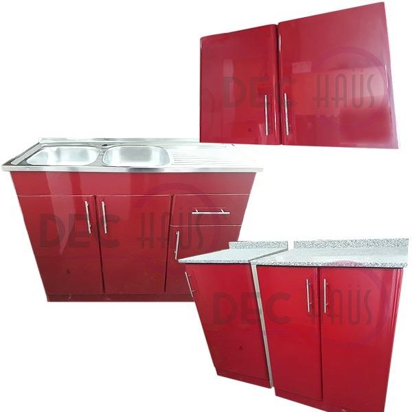 Kit Muebles Cocina Postformado Y Granito 4 Muebles/ Dec-haus ...