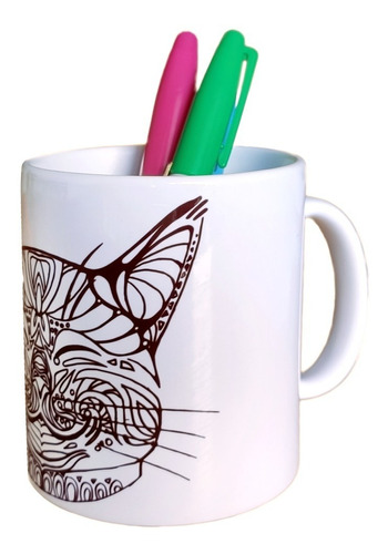 kit mug pintable permanente