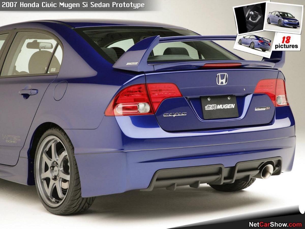 Rdkar Kit Mugen Para Honda New Civic 1 07 08 Completo Sem Pintar R 2 150 00