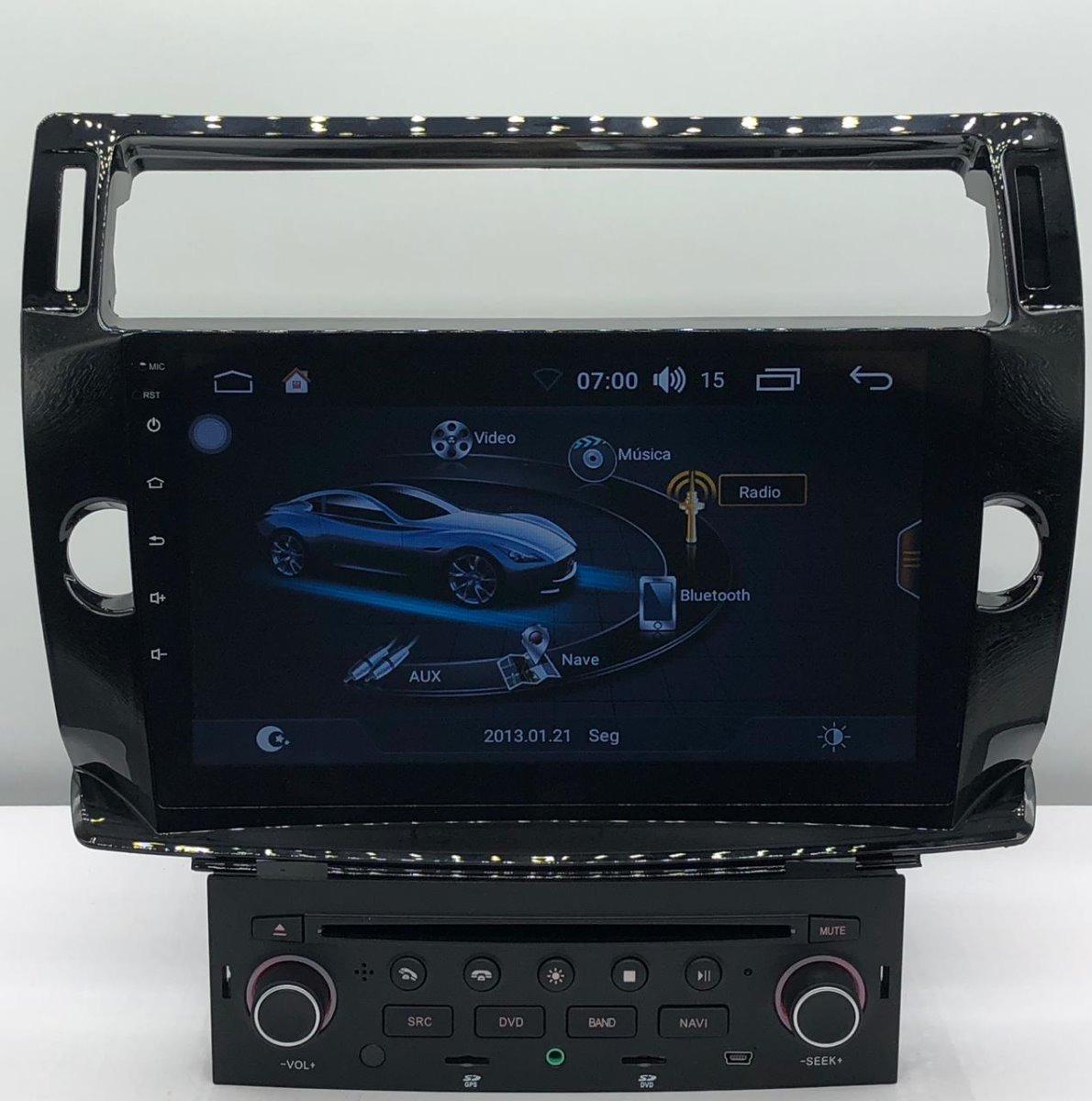 Kit Multimídia C4 Pallas Vtr Hatch Android 6 0 S170 10p Wifi