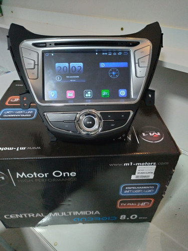kit multimidia elantra 2010 a 2014 m1 android 8 octacore