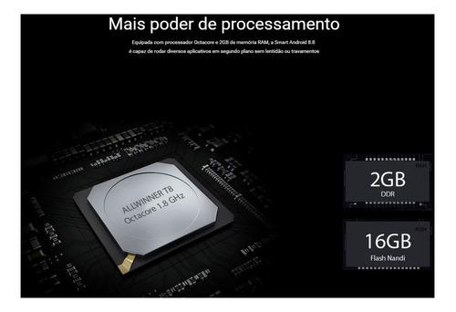 kit multimidia hb20  android 8 aikon 8.8+camdiant+espelh ios
