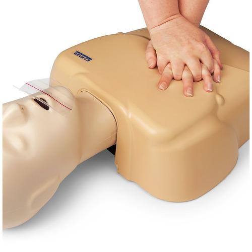 kit muñecos de rcp adulto/ niño + lactante prompt + dea+ reg