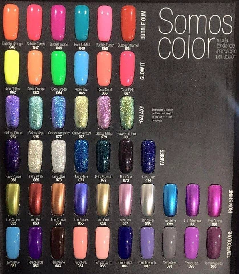 Kit Nail Color Gel Organic Nails Gelish Envío Gratis