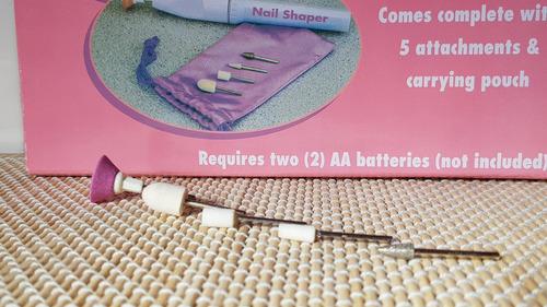 kit nail shaper moldeado de uñas