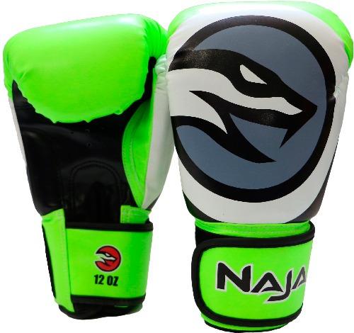 a866a2552 Kit Naja Colors Luva De Boxe Verde bandagem protetor Bucal - R  159 ...