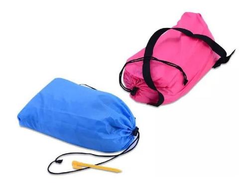 kit namorados viajantes airsofa azul e rosa laybag sofistq