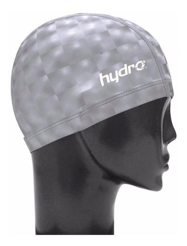 kit natacion hydro: antiparras unibody + gorra polyflex