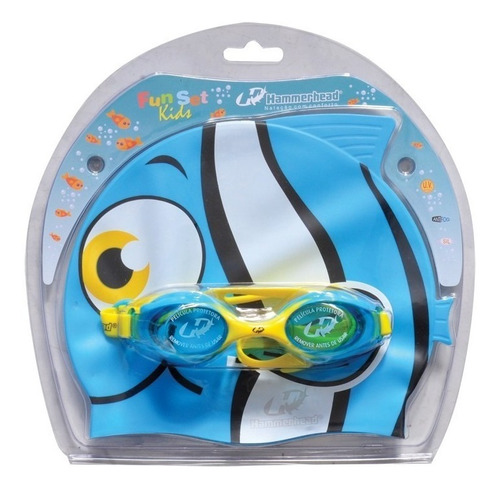kit natação fun set kids infantil