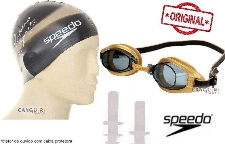 ae36ed7c0 Kit Natação Óculos