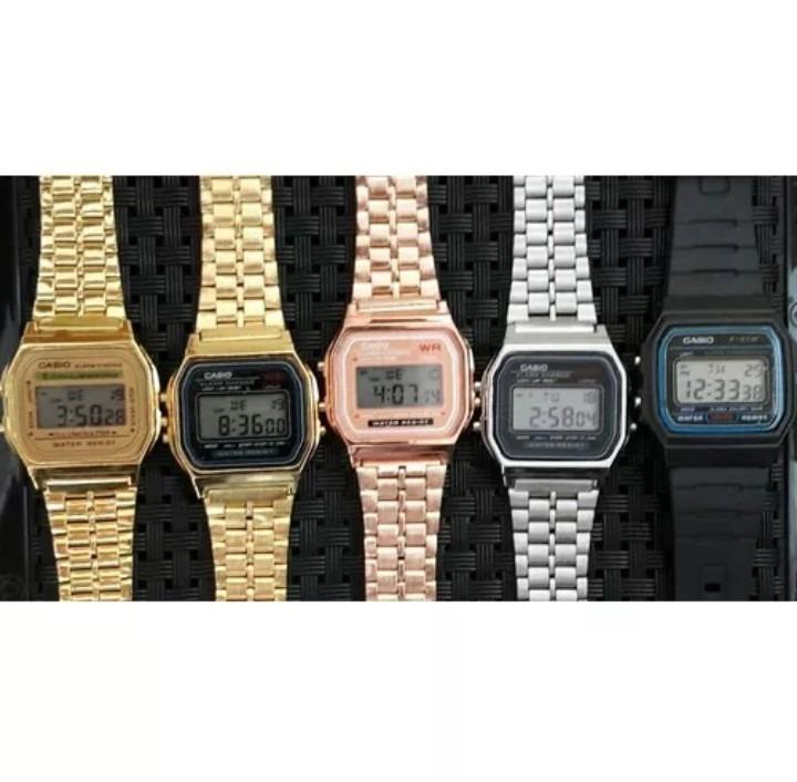 abdba397409 Kit Natal 10 Relógios Casio Retrô Vintage - R  194