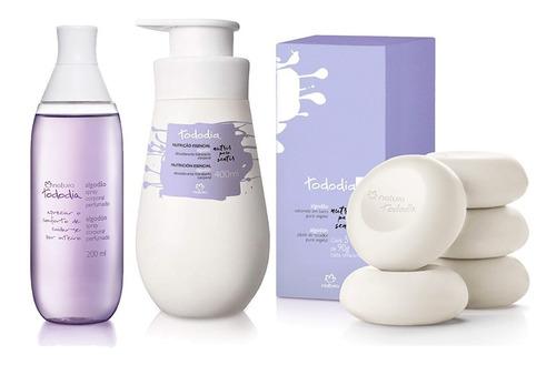 kit natura todo dia algodão  - promoção 3 produtos+brinde