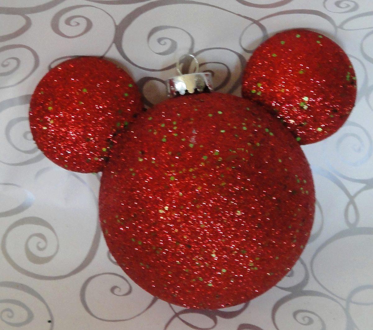 Kit navidad esferas mickey adorno decoraci n navide a for Decoracion con esferas de navidad