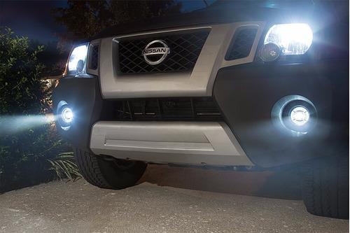 kit neblineros led ojo de angel para auto y camioneta