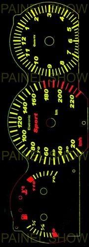 kit neon p/ painel - santana quantum - cod42v220