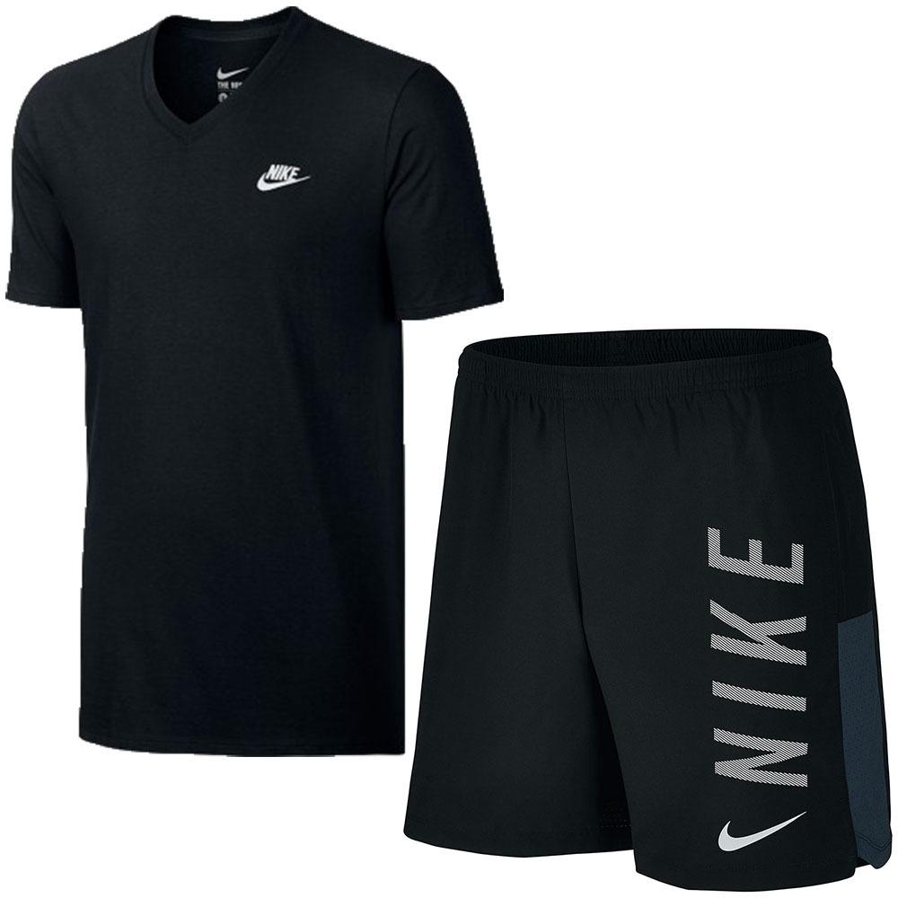 Kit Nike Masculino Shorts Lx Fitness + Camiseta Tee-v Oferta - R ... 76b72a915f333