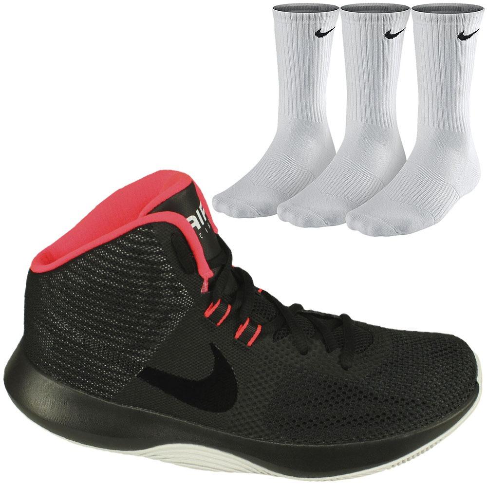 promo code cf9e6 9d1ec kit nike tênis air basquete + 3 meias cano alto masc. oferta. Carregando  zoom.