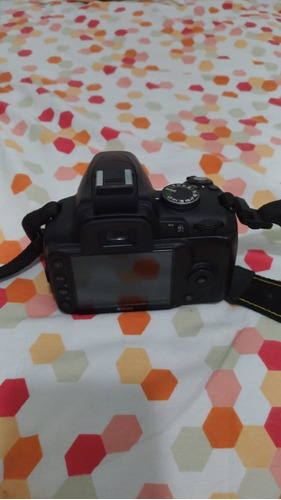 kit nikon d3000 + lente af-s nikkor 18-55 mm + bolsa