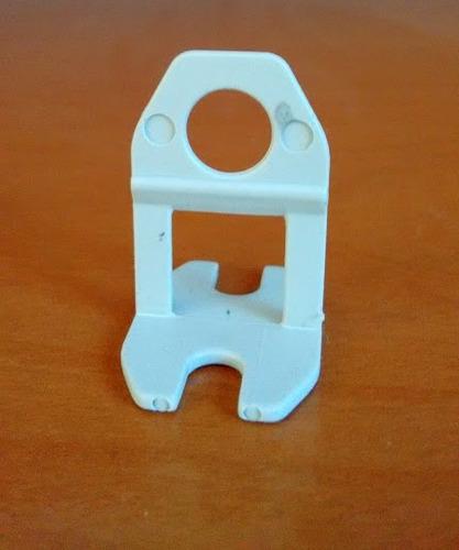 kit nivelador de piso porcelanato 100 clips 1mm + 50 cunhas