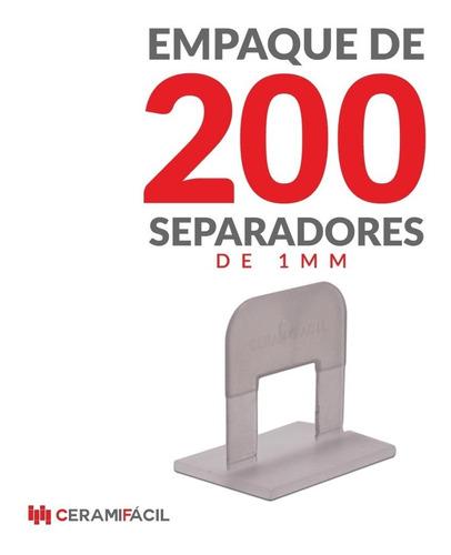 kit nivelador de porcelanato y cerámica 200 clips