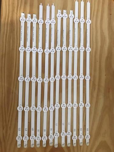 kit novo c/12 barra  led lg 50ln5400 50ln5700 50la6200