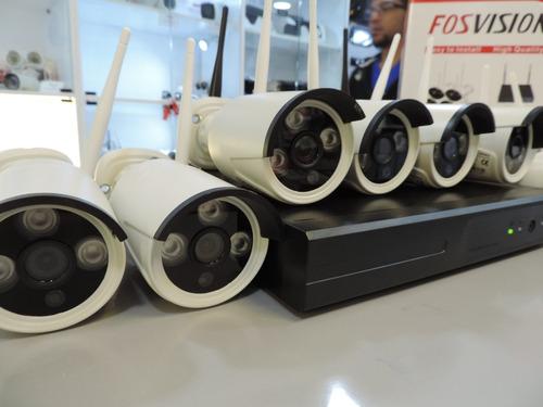 kit nvr + 8 camaras seguridad 720p hd  / fosvision / wifi