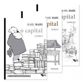 Kit O Capital 3 Volumes Brochura / Karl Marx