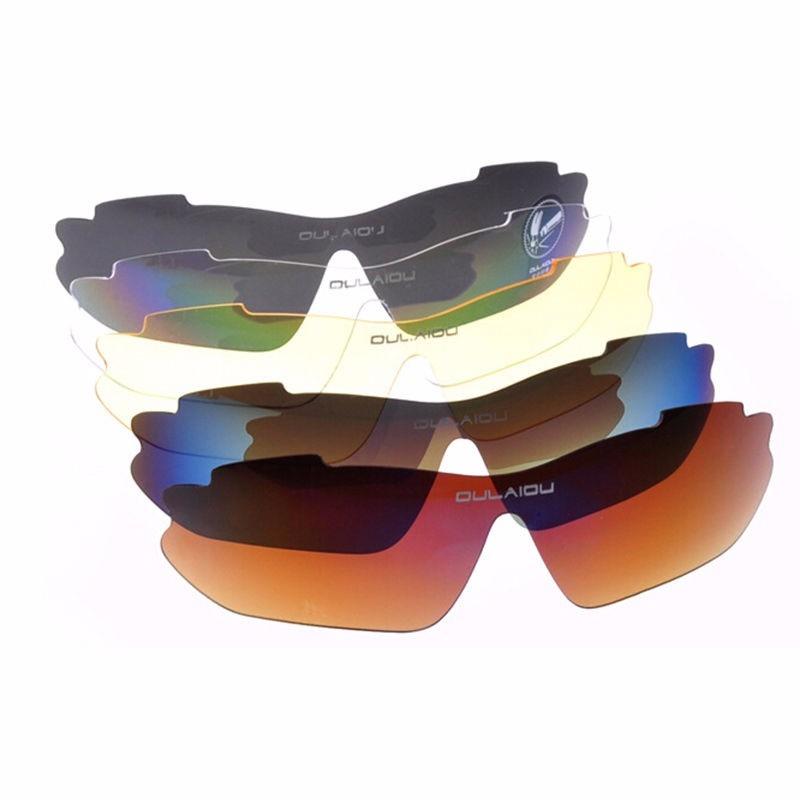kit óculos 5 lentes polarizado esportivo ciclismo ciclista. Carregando zoom. e60547a171