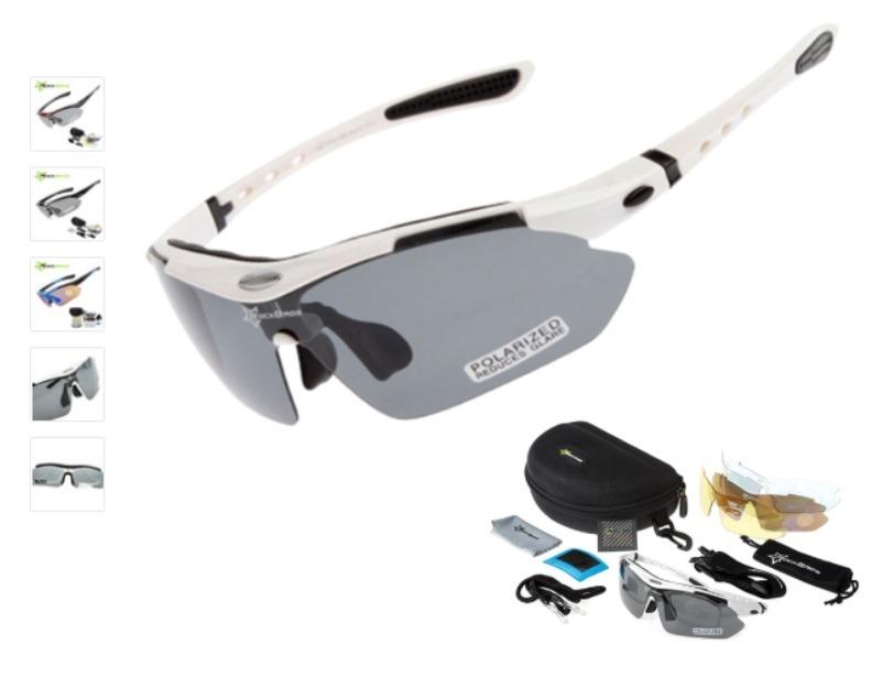 c550dba680101 Kit Óculos 5 Lentes Polarizado Rockbros Ciclismo Bike - R  120,00 em ...