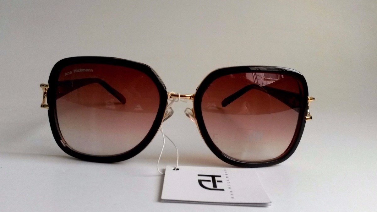 kit oculos de sol ana hickman original feminino + brinde. Carregando zoom. d397f431ec