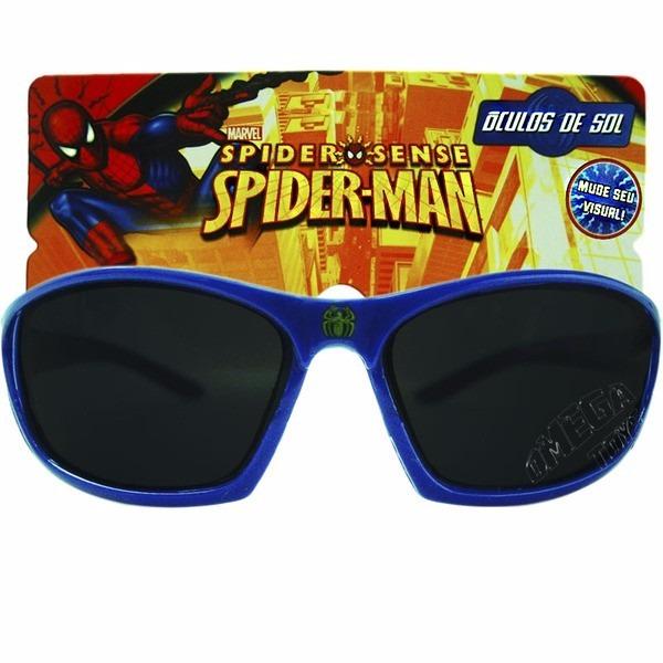 c5d6140e7ce58 Kit Óculos De Sol Infantil Homem Aranha E Quebra Cabeça - R  20
