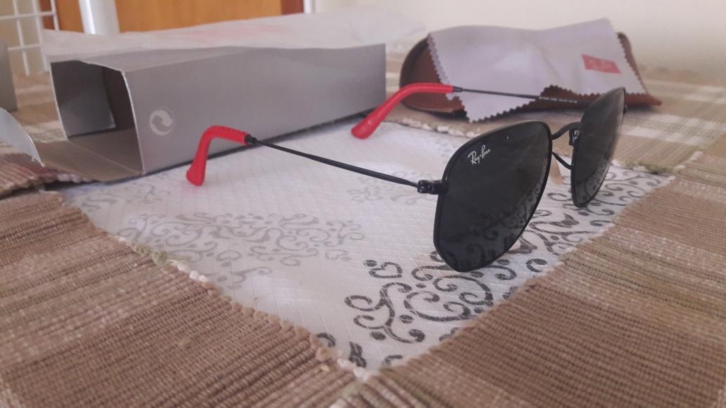 deb9354ac8101 Kit Óculos De Sol Mormaii E Ray Ban Hexagonal Ferrari - R  359
