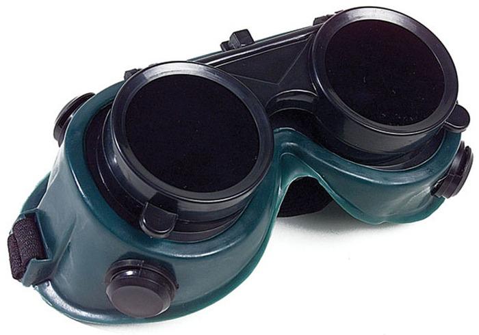 5c5850b1d499b Kit Óculos De Solda Tipo Maçariqueiro + Lentes De Proteção - R  34,65 em  Mercado Livre