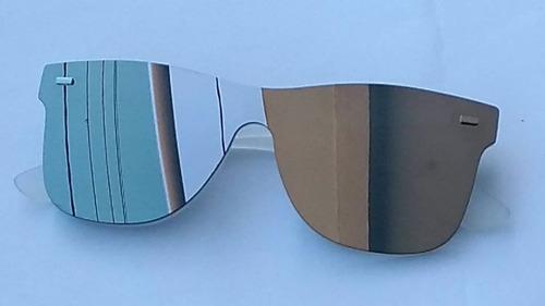 kit óculos espelhado de sol masculino feminino lote 4 peças