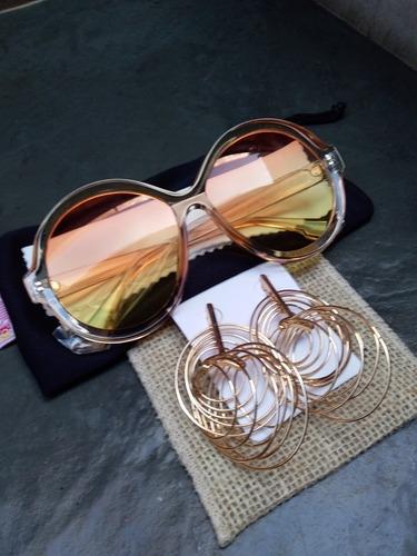 4e152cf164e84 Kit Oculos Modernos Acrilicos C  Case E Lenço + Brincos - R  42,20 ...