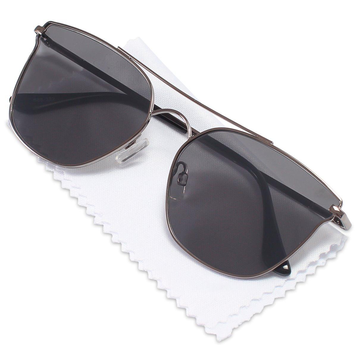 73a5bfb4f3dfa kit oculos sol feminino gatinho estojo proteção uv original. Carregando  zoom.